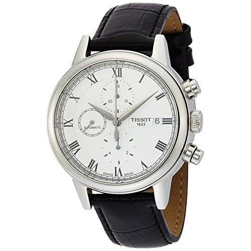 [ティソ]TISSOT 腕時計 Carson Automatic Chrono(カーソン オートマチック クロノ) T0854271601300 メンズ 【正規輸入品】