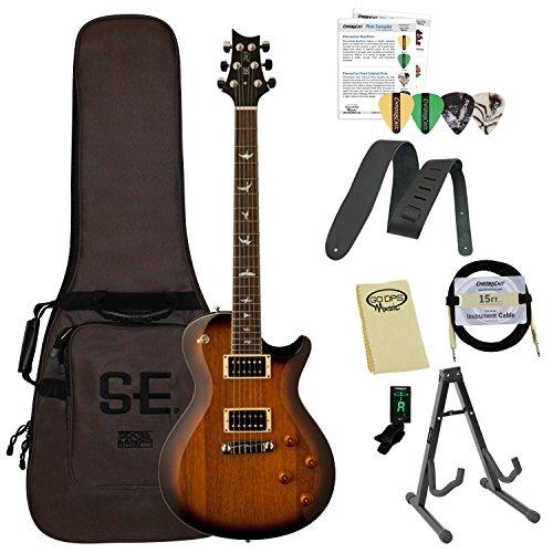 Paul Reed Smith ポールリードスミス Guitars 245STTS-Kit01 PRS SE 245 スタンダード Tobacco Sunburst エレキギター with ギグバッグ ギターケース & ChromaCast Accessories エレキギター エレクトリックギター (並行輸入)