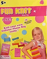 Fun Knit - Knit Your Own Cell Phone Bag Easily