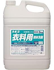 【大容量】 カネヨ石鹸 柔軟剤入り衣料用洗剤 液体 業務用 フローラルの香り 5kg