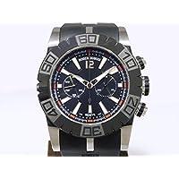ロジェ・デュブイ イージーダイバー 世界限定888本 RDDBSE0282 ブラック メンズ 腕時計 [並行輸入品]