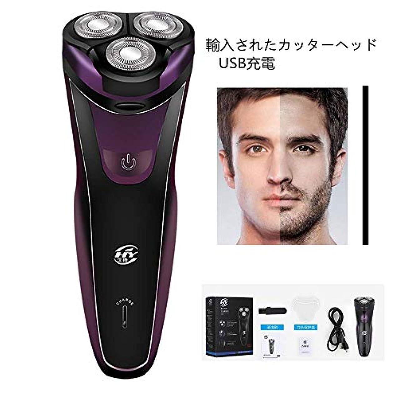 博覧会連想可決USBシェーバー洗浄新しい電気ひげナイフ車充電男性シェーバー本物のシェービングツール電気