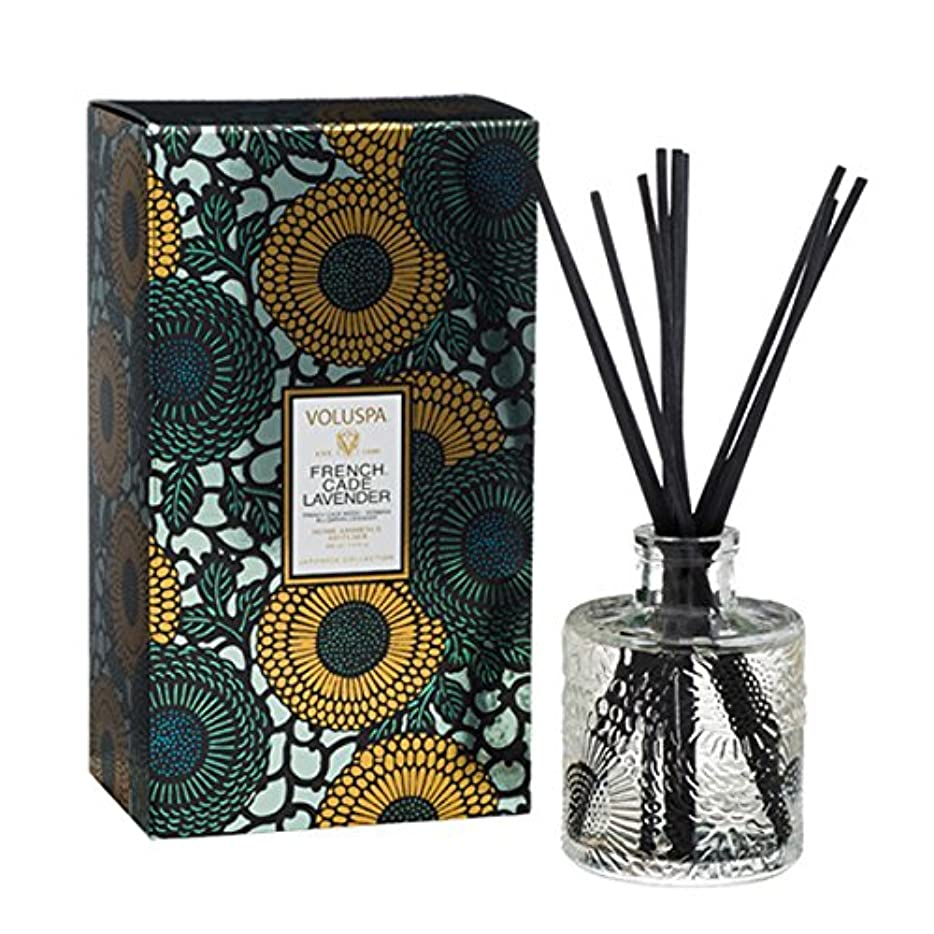 Voluspa ボルスパ ジャポニカ リミテッド リード ディフューザー フレンチケード&ラベンダー FRENCH CADE LAVENDER  JAPONICA Limited EMBOSSED Reed Diffuser