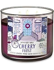 【Bath&Body Works/バス&ボディワークス】 アロマキャンドル チェリーフロスト 3-Wick Scented Candle Cherry Frost 14.5oz/411g [並行輸入品]