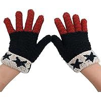 pulison ( TM )子供キッズ幼児男の子女の子ニット冬厚み付けストレッチ手袋カシミアソフト暖かいミトン