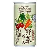 信州・安曇野野菜ジュース(食塩無添加) 190ml ×30本 ゴールドパック[飲料]