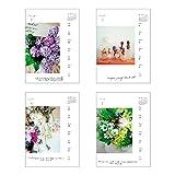 アートプリントジャパン 2019年 フラワーデイズ(週めくり) カレンダー vol.054 1000100991 画像