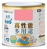 カンペハピオ プレミアム水性塗料 さくら色 0.2L