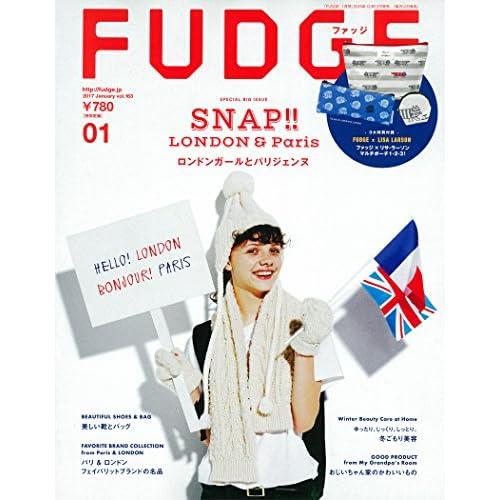 FUDGE  2017年1月号 (ファッジ)