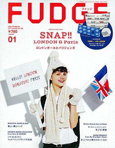 FUDGE(ファッジ) 2017年 1月号 [ロンドンガールとパリジェンヌ]の詳細を見る