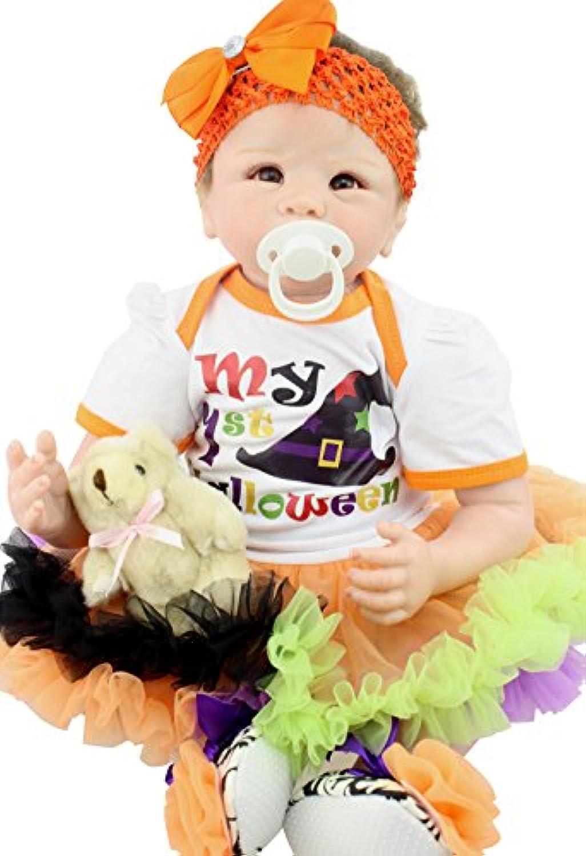 Funny House 55cm リボーンドール ベビードール ドール きせかえ人形 お人形 新年プレゼント 誕生日プレゼント