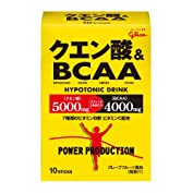 グリコパワープロダクションクエン酸酸&BCAA ハイポトニック粉末ドリンク グレープフルーツ...