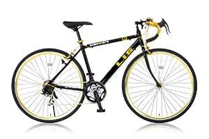 LIG(リグ) ロードバイク 700C シマノ21段変速[サムシフター] 前輪クイックリリース 前後キャリパーブレーキ LIG UNIWAY ブラック