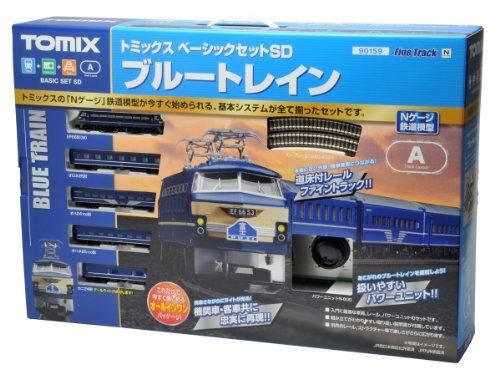 TOMIX Nゲージ ベーシックセットSD ブルートレインIII 90159...