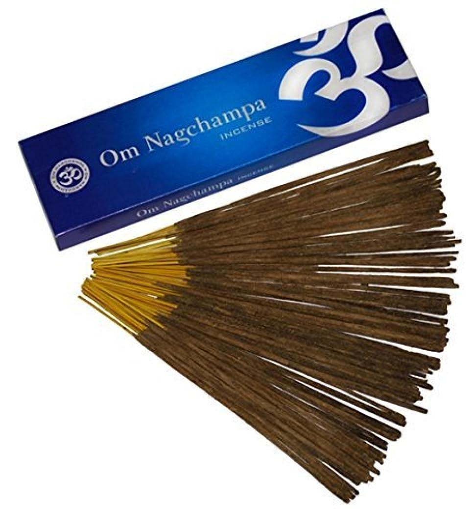 夏愚かな発揮するOm Nagchampa Nag ChampaプレミアムIncense Fragrance 15 g 40 g 100 g 100g ブラウン B00MV3LZ9E