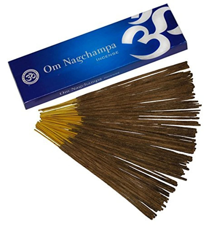 タブレットシーズン緊張するOm Nagchampa Nag ChampaプレミアムIncense Fragrance 15 g 40 g 100 g 100g ブラウン B00MV3LZ9E