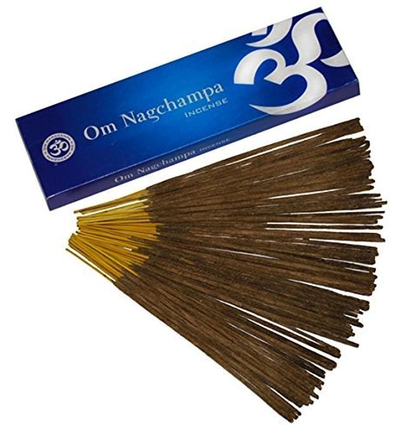 拾う分数雑多なOm Nagchampa Nag ChampaプレミアムIncense Fragrance 15 g 40 g 100 g 100g ブラウン B00MV3LZ9E