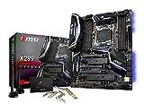 MSI X299 GAMING PRO CARBON AC マザーボード [Intel X299 チップセット搭載 LGA 2066 ソケット] MB3933