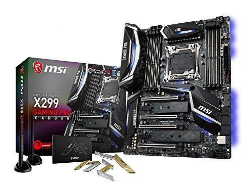 予約受付中 MSI Computer X299 GAMING PRO CARBON AC Intel X299チップ搭載 ゲーミングATXマザーボード Intel X-Series …