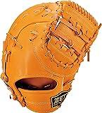 ゼット(ZETT) 少年野球 軟式 ファーストミット ネオステイタス 右投げ用 オレンジ(5600) BJFB70113