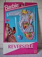 バービーReversibleファッション–デニムジャケット、花柄トップ、デニムスカート( 1992)