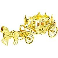 [Mout] 3Dメタルパズル Royal Carriage 馬車 F22202T DIY立体レーザーカットモデルおもちゃアダルト