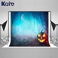Halloweeen 背景幕 3D カートゥーン ハロウィン 背景 ストロー 城 写真スタジオ小道具 セインツデー写真用