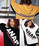 ANAP(アナップ) ANAPロゴ×WラインURLフーディー マスタード F