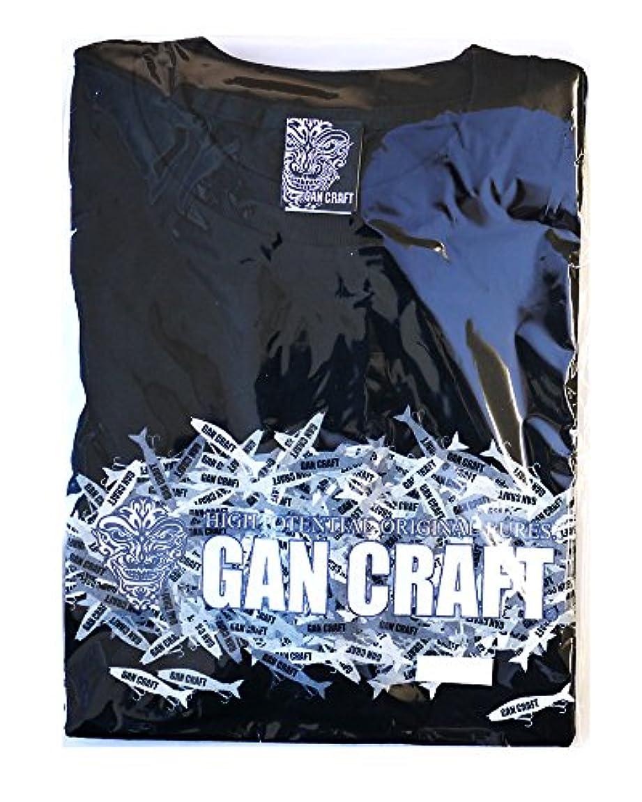 私典型的な章GAN CRAFT(ガンクラフト) ジョイカモTee BK/カモグレー WM.