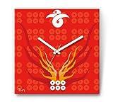 TWT-JAPAN 戦国 武将 ファブリック 掛時計 03 大河『真田丸』主人公 六連銭 真田幸村 W