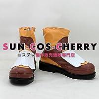 【サイズ選択可】コスプレ靴 ブーツ K-1745 ドラゴンネスト Dragon Nest アカデミック Academic 女性24.5CM