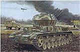 ドラゴン 1/35 第二次世界大戦 ドイツ軍 IV号対空戦車 ヴィルベルヴィント 初期生産型 2in1キット プラモデル DR6926