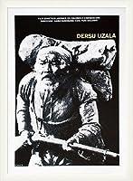ポスター 作者不明 デルス・ウザーラ/黒澤明 額装品 ウッドベーシックフレーム(ホワイト)