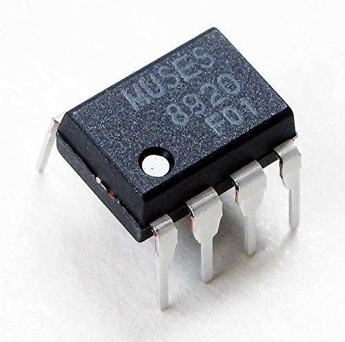 新日本無線株式会社(New JRC) 2回路入りJ-FET入力高音質オペアンプ MUSES8920D