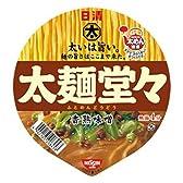 日清 太麺堂々 香熟味噌 108g×12個
