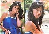 アグネス・ラム SPカード 2枚セット '70s アイドル カード コレクション 金箔 サイン カード