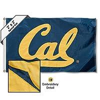 Cal Berkeley Golden Bears 2x 3足刺繍フラグ