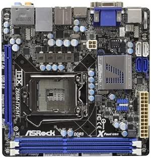ASRock マザーボード Z68 Mini-ITX Z68M-ITX/HT