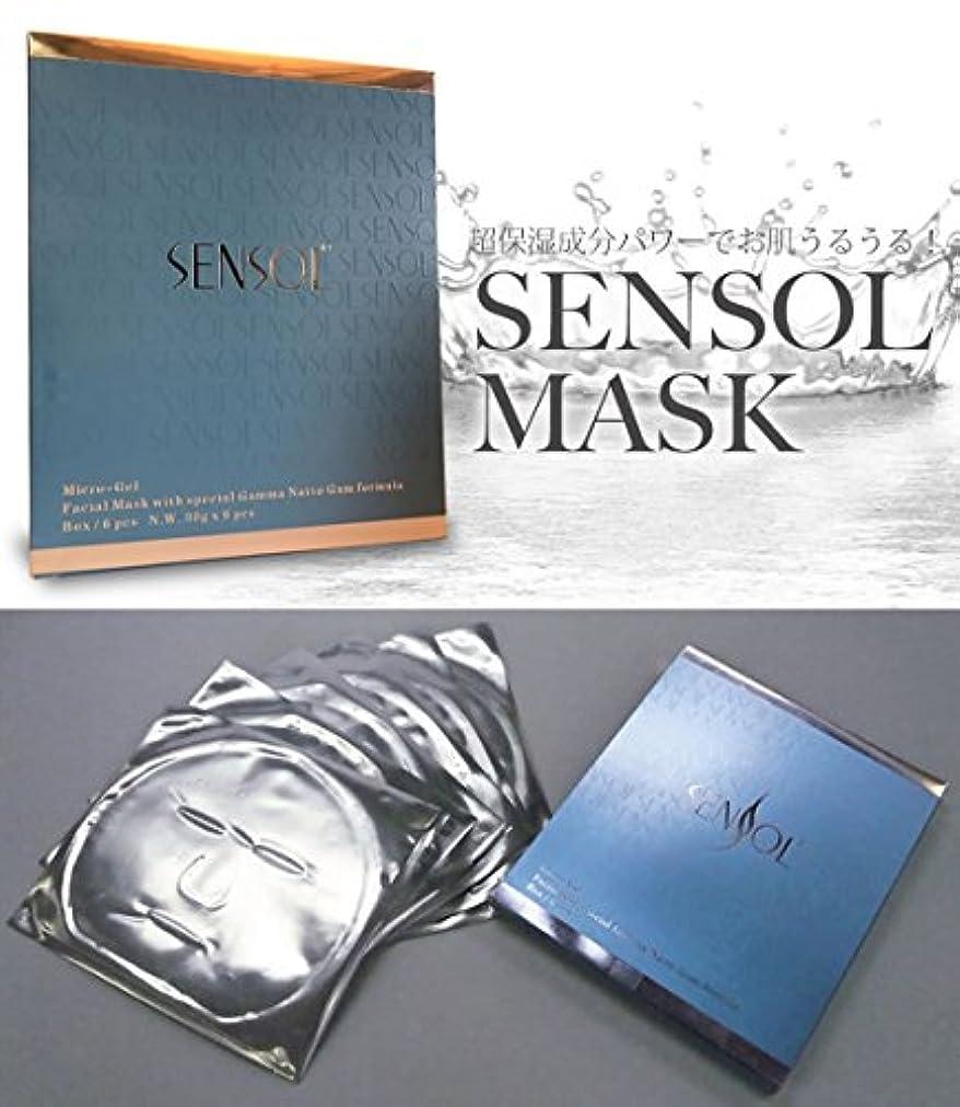 大通りささいな評価センソルマスク 6枚入