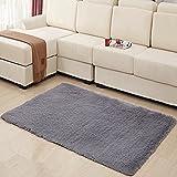 FUT(エフュ ト) 長方形全8色/洗える/おしゃれ/床暖房対応/スベりにくい/加工折り畳み可能/模様替えカーペット80cm*120cm