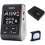 VIOFO A119S V2 Dash Camera with GPS Logger & CPL 2018 Edition (OCD Tronic Certified)