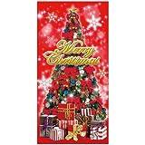 クリスマスツリータペストリー(防炎加工)