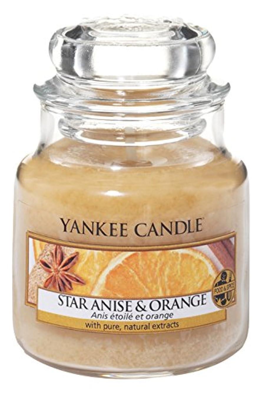 主要なメカニック公平なYankee Candle Star Anise &オレンジSmall Jar Candle – UK Exclusive for Holiday 2016