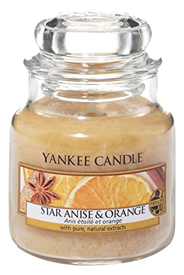 より平らなピアノ電池Yankee Candle Star Anise &オレンジSmall Jar Candle – UK Exclusive for Holiday 2016