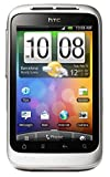 HTC Wildfire S Unlocked GSM Touchscreen Android Smartphone - White/Silver [並行輸入品]