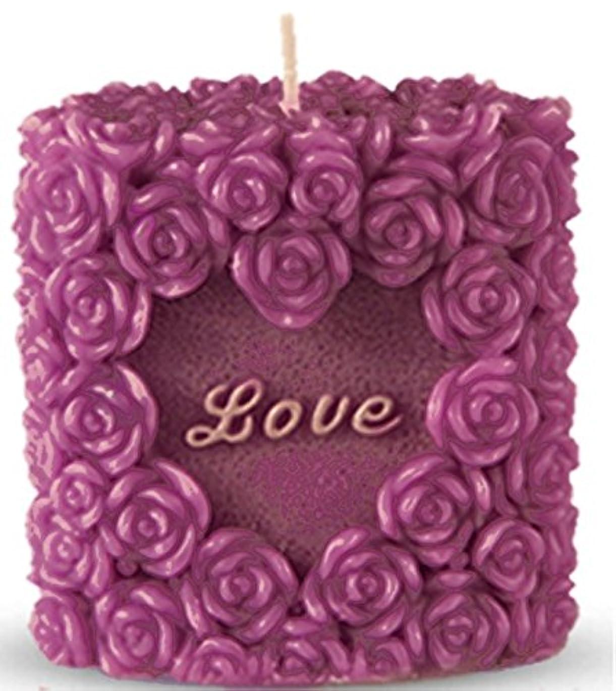(Valentine Package) - Romantic Love Candle, Rose Design, Smokeless, Elegant, Non-Drip, Fragrant, Rosy and Premium...