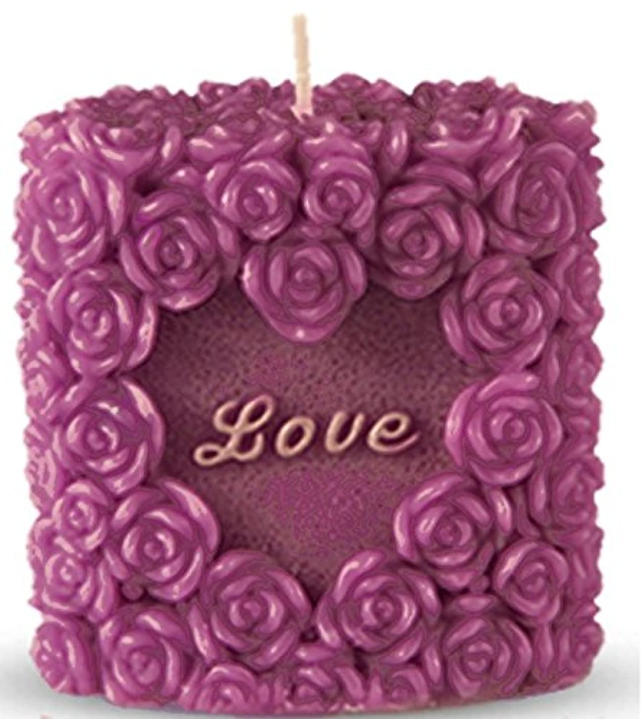 チーターゴムみなさん(Valentine Package) - Romantic Love Candle, Rose Design, Smokeless, Elegant, Non-Drip, Fragrant, Rosy and Premium...