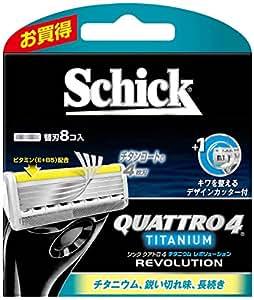 シック クアトロ4 チタニウム レボリューション 替刃 8コ入