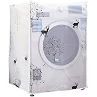 [Jiyaru]洗濯機カバー ドラム式洗濯機用 防水 防塵 洗える 厚い #5