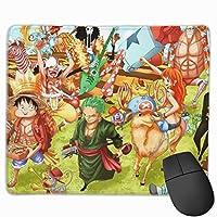 ワンピース One Piece マウスパッド 25×30 大判 ノンスリップ 防水 ゲーミング おしゃれ マウスの精密度を上がる
